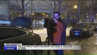 Police investigating confrontation involving Atlanta news crew outside R. Kelly's studio