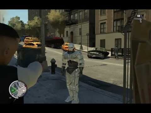 Grand Theft Auto IV – Robocop