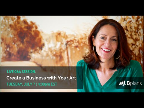 Create a Business with Your Art - Featuring Ann Rea
