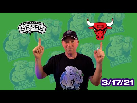Chicago Bulls vs San Antonio Spurs 3/17/21 Free NBA Pick and Prediction NBA Betting Tips