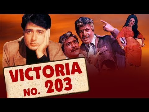 Victoria No. 203 (1985) Full Hindi Movie | Ashok Kumar, Saira Banu, Navin Nischol, Pran, Ranjeet