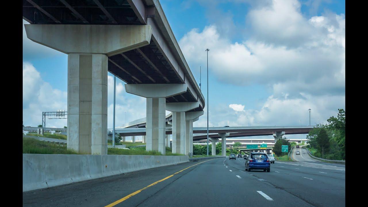 Washington DC Beltway (Capital Beltway, I-495) Map | hobnob blog