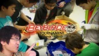 ~Beyblade Metal Fury TOURNAMENT - ToysRUs March 16 2013 + Prizes!! | iTris2 Vlog