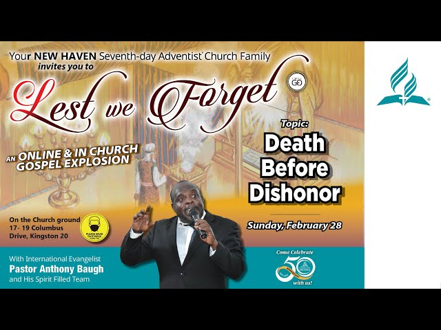 Lest We forget New - Death Before Dishonor