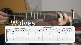 Learn to Play - Wolves (Selena Gomez & Marshmello) - Fingerstyle Guitar Tutorial