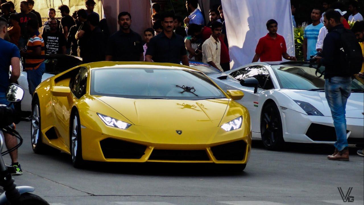 Lamborghinis In India Youtube