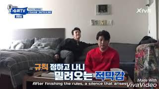"(Super TV) Lee Donghae ""Daeeeeeebaaaak"" when he saw Bluetooth Mic for the first time"