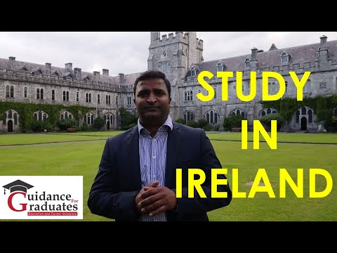 Study In Ireland (Bachelors, Masters & PhD)- A Guide