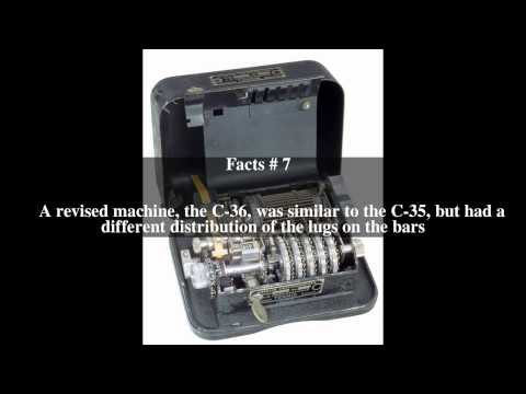 C-36 (cipher machine) Top # 10 Facts