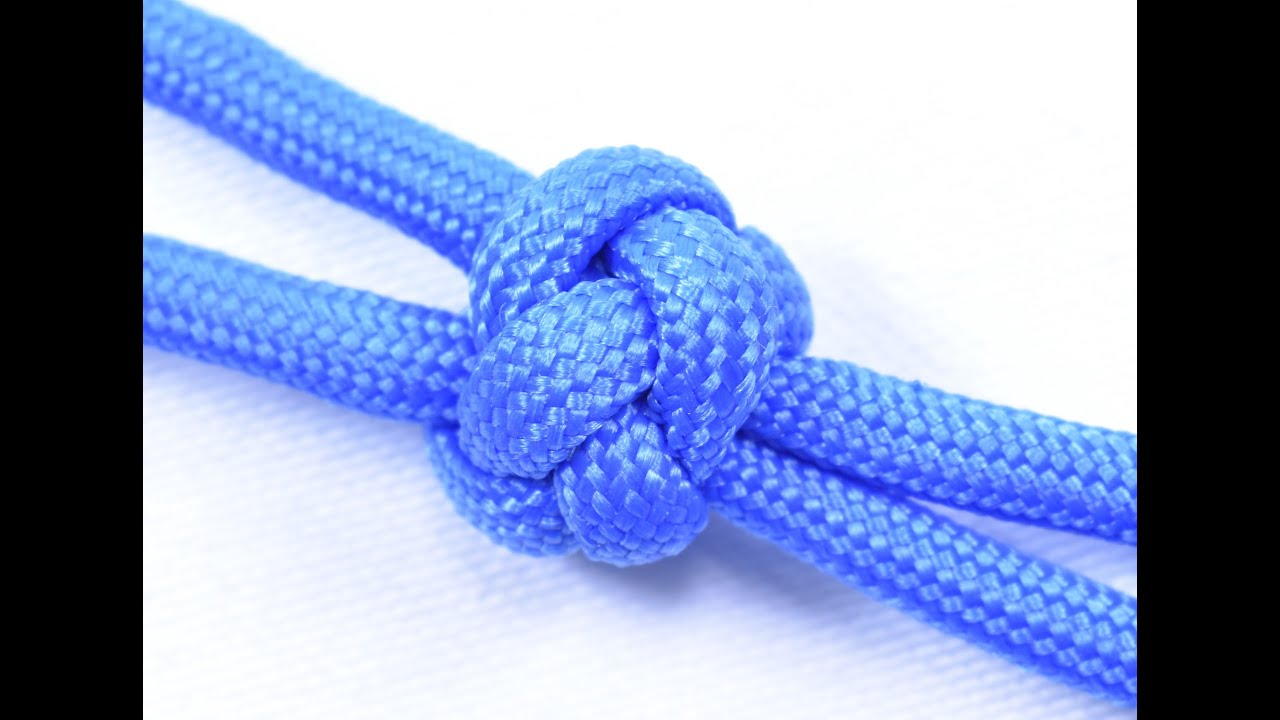 Make a Two Strand Diamond Knot w/ Paracord - BoredParacord com