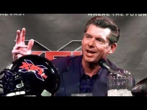 Vince McMahon brings back the XFL