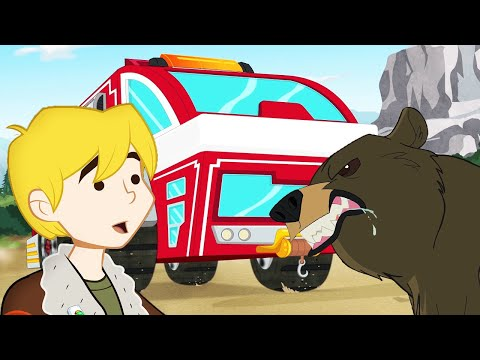 Transformers Official | The Rescue Bots Go On A Road Trip! | Full Episode | Transformers Rescue Bots