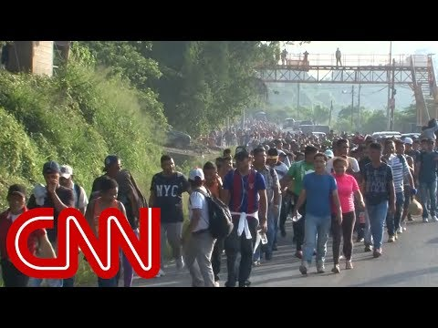Trump Warns Caravan Of Immigrants Heading To US