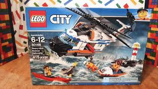 Heavy-Duty Rescue Helicopter, '2017' Lego City 60166