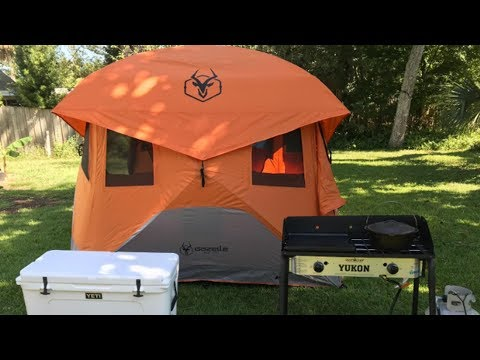 Gazelle 22272 T4 Pop-Up Portable Camping Hub Tent Review