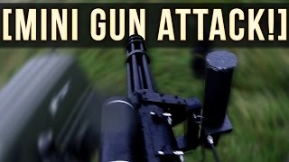 One of MattTheMusketeer's most viewed videos: MINI GUN ATTACK! | AIRSOFT MINI GUN!