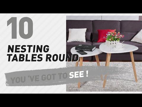 Nesting Tables Round // New & Popular 2017