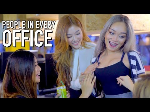 12 PEOPLE YOU WILL MEET IN EVERY OFFICE