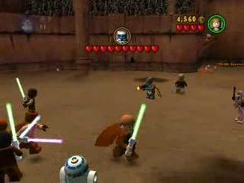 LEGO Star Wars: The Video Game Campaign Part 6 Segment 2 - YouTube