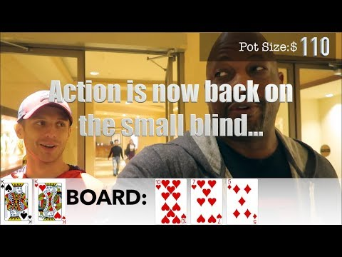 When Poker Karma Check-Raises you Pre-Flop