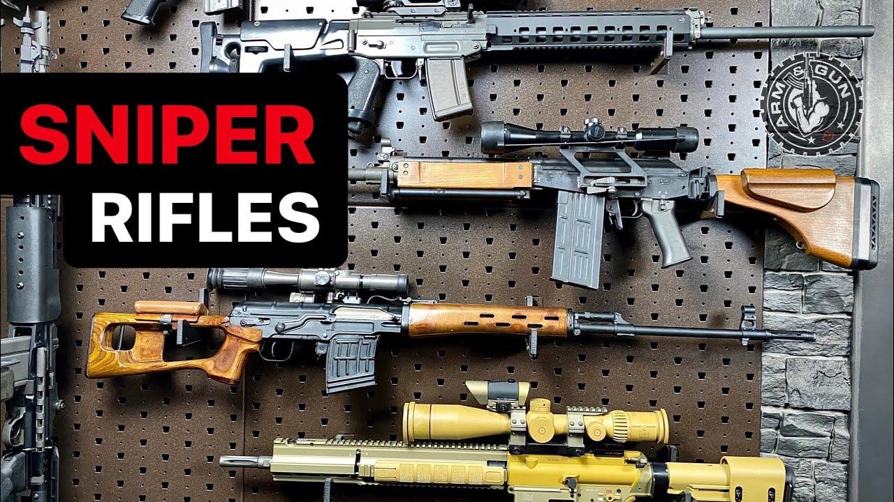 8 Sniper Rifles in 1 Minute #Shorts