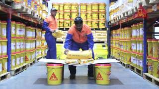 Sika Carbodur earthquake-resisting structural strengthening system