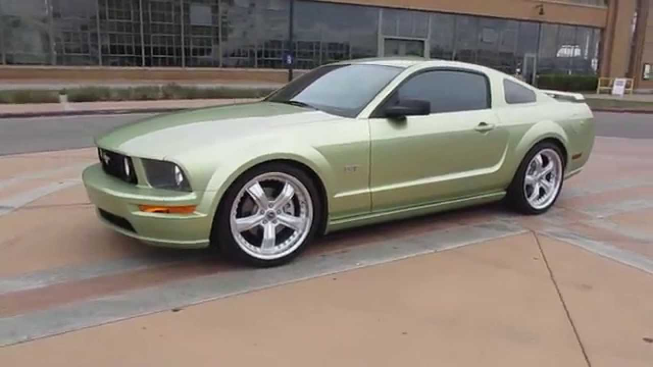 2005 green ford mustang gt walkaround