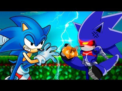Играем в фан игры - Sonic the hedgehohog