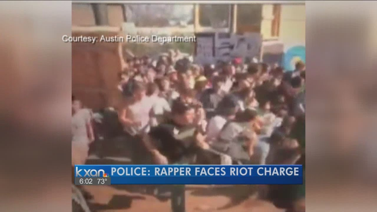 Tyler, the Creator arrested for starting a riot