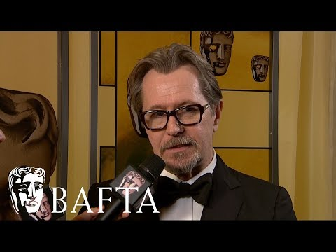 Gary Oldman  Backstage   EE BAFTA Film Awards 2018