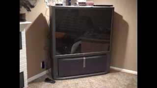 Projection TV fun