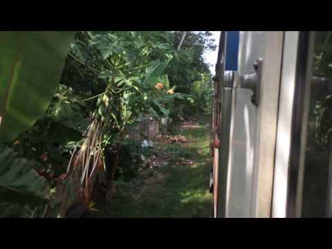 Sri Lanka Railways Class S10 DMU ride between Kochchikade to Negombo.
