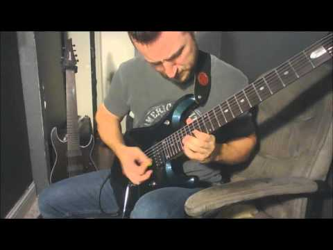 Ronnie James Dio - Rainbow in the Dark - Vivian Campbell Solo -  Cover