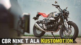 Modifikasi Honda CBR 150 Kustomotion [Atenx Katros]