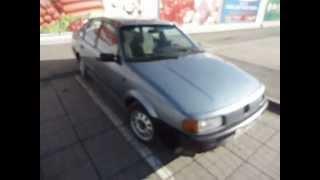 Volkswagen Passat 1989 г.в. видео тест-драйв на bizovo.ru