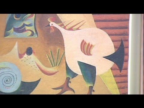 euronews le mag - Miro art show opens in Barcelona