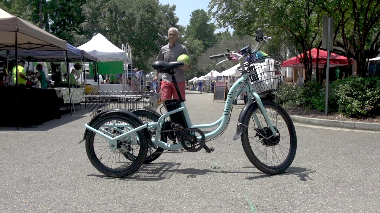 Electric Trike For Sale by Bintelli - The Trio - New 3 Wheel Electric  Bicycle Tricycle