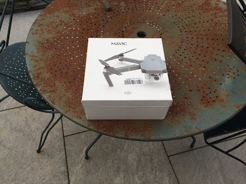Amazon Warehouse Deals EU SarL DJI Mavic Pro Drone Unboxing / Review