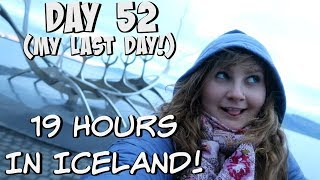 BLUE LAGOON, PENIS MUSEUM, AND SLEEPING IN A SUBWAY?! | EUROPE TRAVEL VLOG | DAY 52