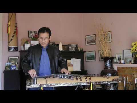 Dang Thao - Ly Con Sáo - A beautiful piece of Dan Tranh Music Viet Nam
