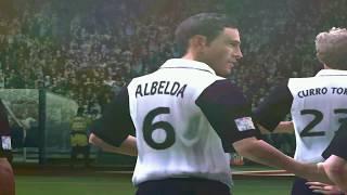 PC Retro FIFA 2004 Atlético de Madrid x Valencia gameplay