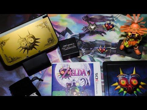 Обзор и распаковка New Nintendo 3DS XL - Legend of Zelda: Majora's Mask 3D Special Edition