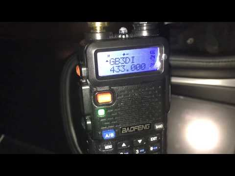 Background info. to the Harwell Amateur Radio Society net on the 70 cm repeater  GB3DI
