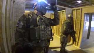 Airsoft War at Gamepod Combat Zone 5/4/14 (Airsoft obsessed, jet desert fox, polarstar)