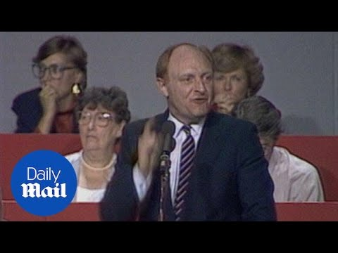 Neil Kinnock's famous speech from 1985 Labour Party conference