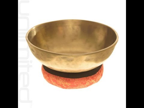 "8.25"" Mani Antique Bowl (#1) Unlimited Singing Bowls"