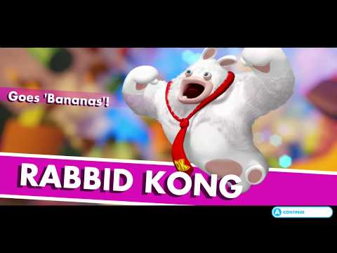 Mario + Rabbids Kingdom Battle Walkthrough - World 1-9: Top Banana - Boss: Rabbid Kong - Part 9