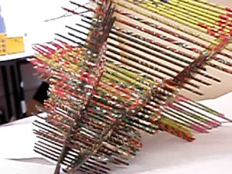 Ap Colourful Paper Sculpture The Flicker Youtube