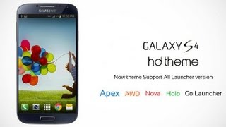 TOUCHWIZ 5.0 para Android [launcher De Galaxy s4]