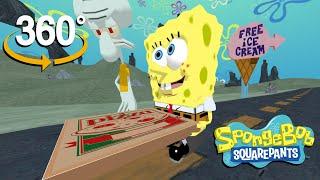 Spongebob Squarepants! - 360°  - Krusty Krab Pizza! (The First 3D VR Game Experience!)
